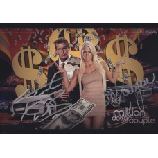 Maryse and Ted DiBiase Jr. Signed 8x10 (Version 2)