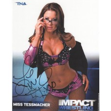 Brooke Tessmacher Signed 8x10 (Version 3)