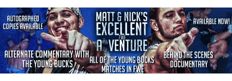 FWE Young Bucks DVD
