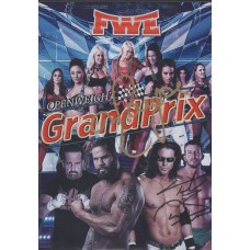 FWE Grand Prix Rd. 1 - Maryse and Ted DiBiase Jr. Signed DVD