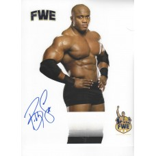 Bobby Lashley Signed 8x10
