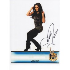 Melina Signed 8x10 (Version 2)